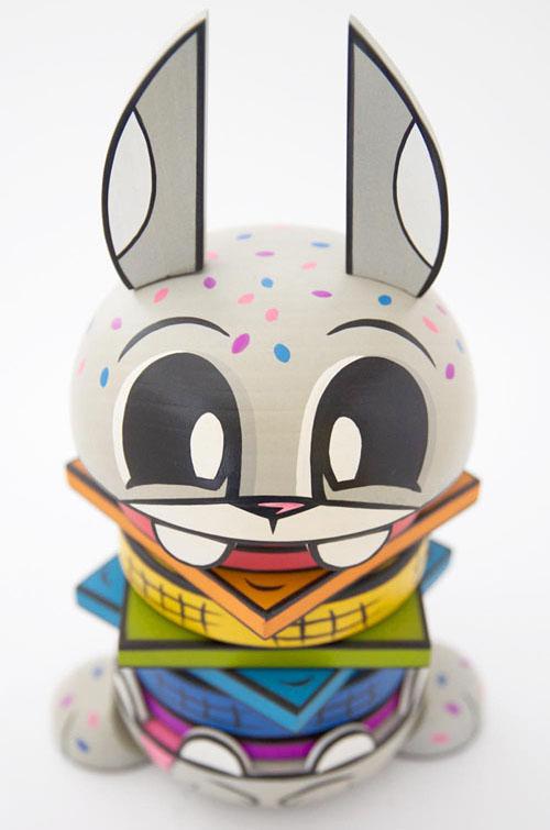 Rainbow Burger Bunny by Joe Ledbetter_e0118156_14171569.jpg