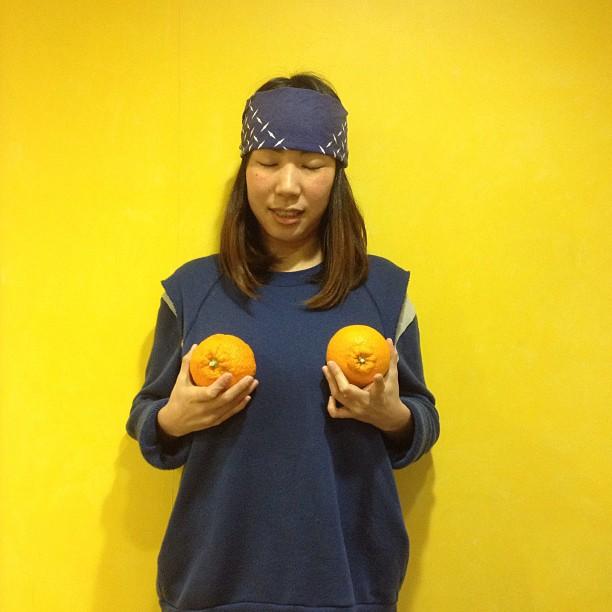 Blue huwahuwa Yellow Oppai nice Asa_f0170995_21245665.jpg