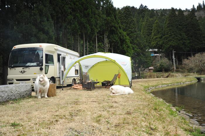 ホームキャンプ場♪ part1_a0049296_18555486.jpg
