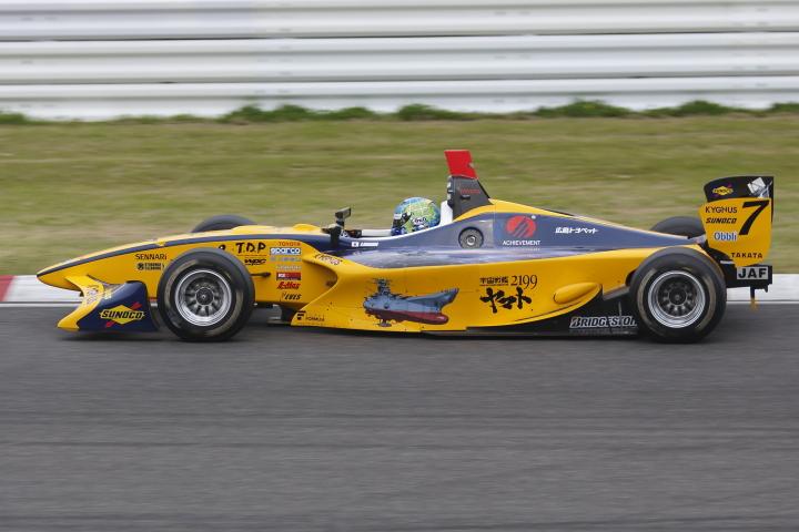 SUZUKA  2&4 RACE  2013 【スーパーフォーミュラ 第1戦 決勝レース】_f0253927_22211934.jpg