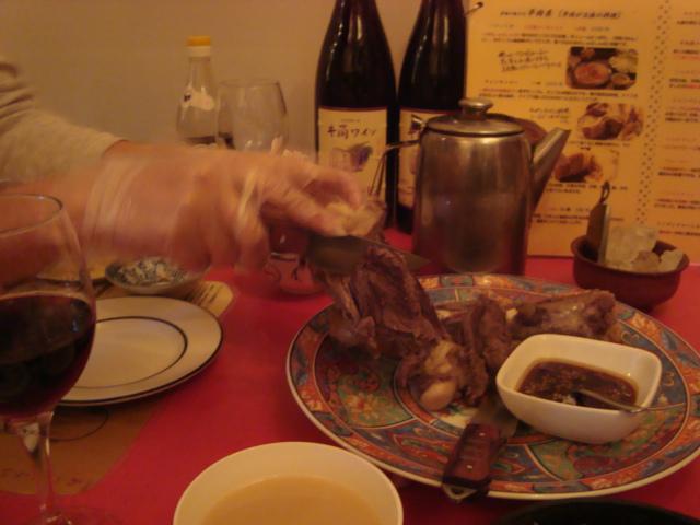 巣鴨「モンゴル料理 シリンゴル」へ行く。_f0232060_1173235.jpg