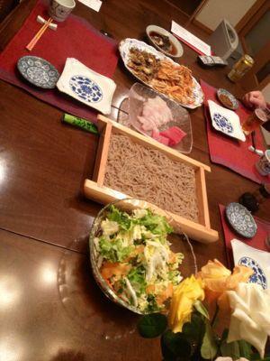 家ごはん ☆ そば&天ぷら_c0151965_16202229.jpg