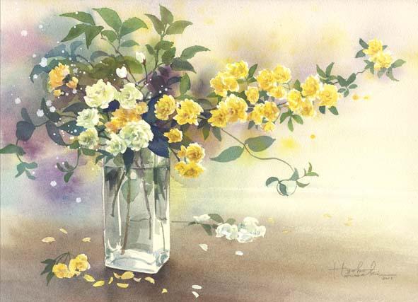 モッコウバラ(木香薔薇)_f0176370_18275133.jpg