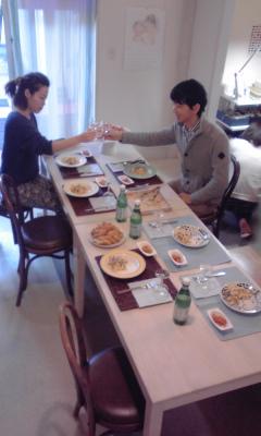 生パスタ会にて…_a0113071_18282956.jpg