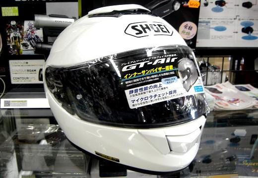 NEWヘルメット SHOEI GT-Air を眺めてみたインプレッション。_b0163075_8124030.jpg