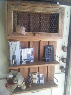 "Beads Lamp \""ef\"" & Wood wark \""IRIE\""_c0134086_2213394.jpg"
