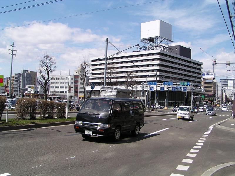 地下鉄白石駅・バスターミナル_f0078286_11154262.jpg