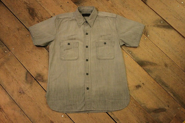 まるで長年使い込まれたようなシャンブレーシャツ。_d0121303_17193899.jpg