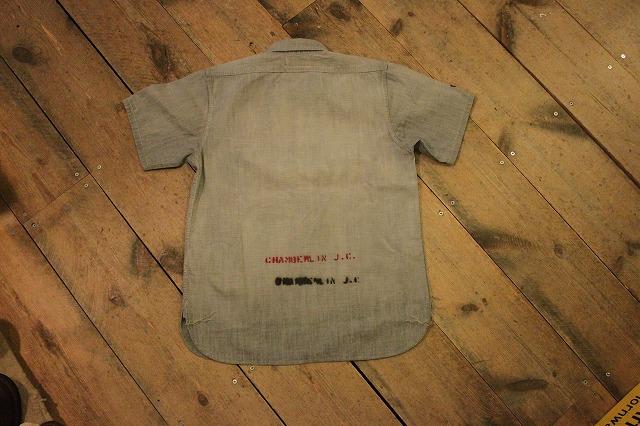 まるで長年使い込まれたようなシャンブレーシャツ。_d0121303_17195025.jpg