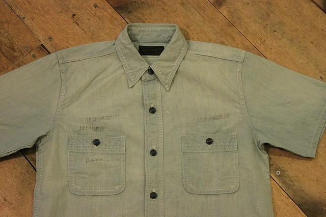 まるで長年使い込まれたようなシャンブレーシャツ。_d0121303_1719868.jpg