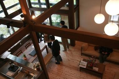 「FOREST BARN MODEL HOUSE 」の完成見学会でした♪_e0029115_15405775.jpg
