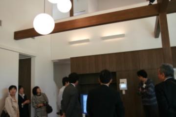 「FOREST BARN MODEL HOUSE 」の完成見学会でした♪_e0029115_1542347.jpg