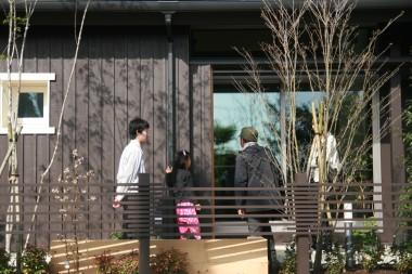 「FOREST BARN MODEL HOUSE 」の完成見学会でした♪_e0029115_15425999.jpg