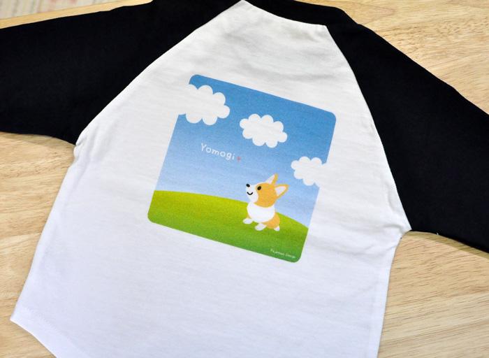 ぷりめちゃん、よもぎちゃんのベビー・ベースボールTシャツ_d0102523_14383725.jpg