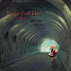 人気の乙女ゲームの主題歌や新曲を収録した2年半ぶりのアルバム「Imperial Arc / love solfege」_e0025035_0251225.jpg