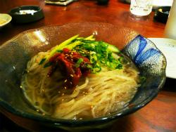 七輪焼きと冷麺_c0087349_9125376.jpg