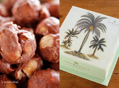 The Kahara mac nuts chocolate  カハラホテルのチョコレート_e0253364_1073063.jpg