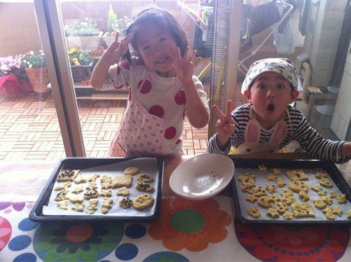 ちびっこクッキー作り_a0210776_21244112.jpg