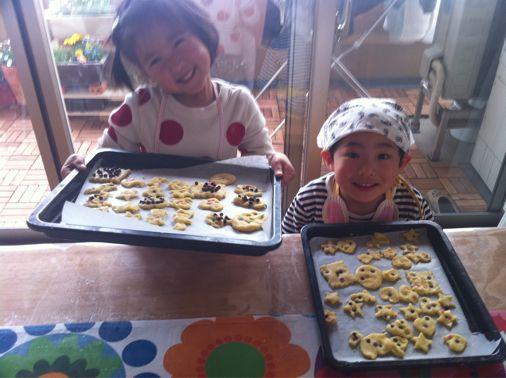 ちびっこクッキー作り_a0210776_21244272.jpg