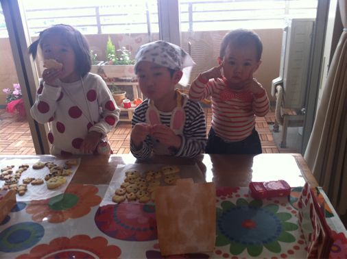ちびっこクッキー作り_a0210776_21244417.jpg