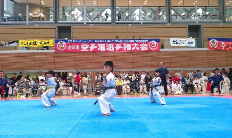 第30回オープントーナメント 全四国空手道選手権大会_c0186691_14442316.jpg