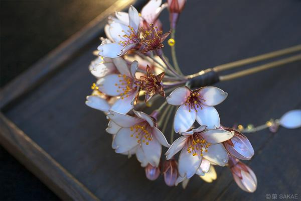 桜の幹 榮 Kanzashi Sakae 簪作家