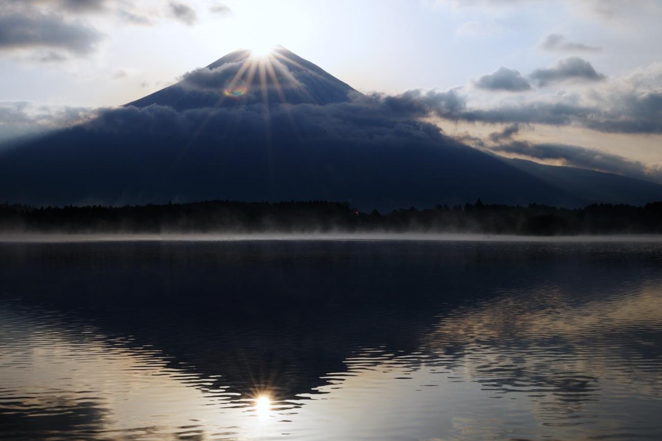 ダイヤモンド富士との遭遇_c0220824_20435396.jpg