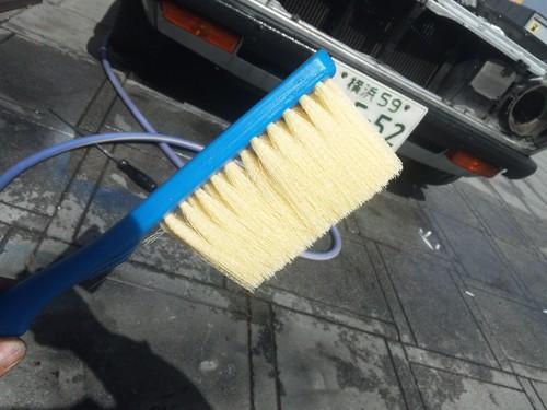 B110サニーの洗車でござる。_a0163159_21313016.jpg