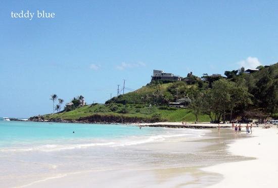 Kailua Beach, Hawaii  カイルアビーチ_e0253364_1583827.jpg
