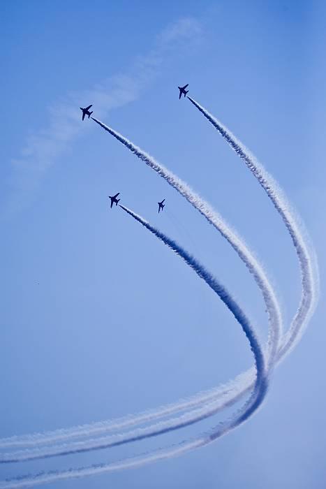 ブルーインパルス、 訓練飛行その2_c0077395_2034768.jpg
