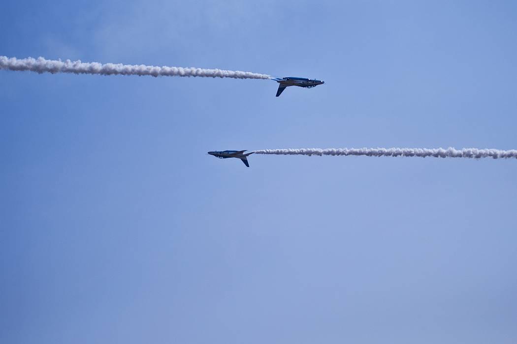 ブルーインパルス、 訓練飛行その2_c0077395_20441420.jpg