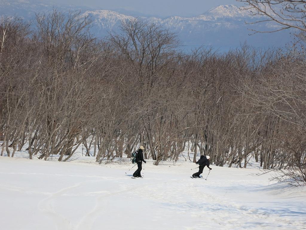 4月23日、風不死岳と樽前山-ゲートから風不死岳編-_f0138096_15333692.jpg