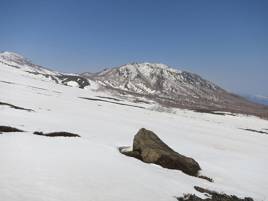 4月23日、風不死岳と樽前山-ゲートから風不死岳編-_f0138096_15334438.jpg