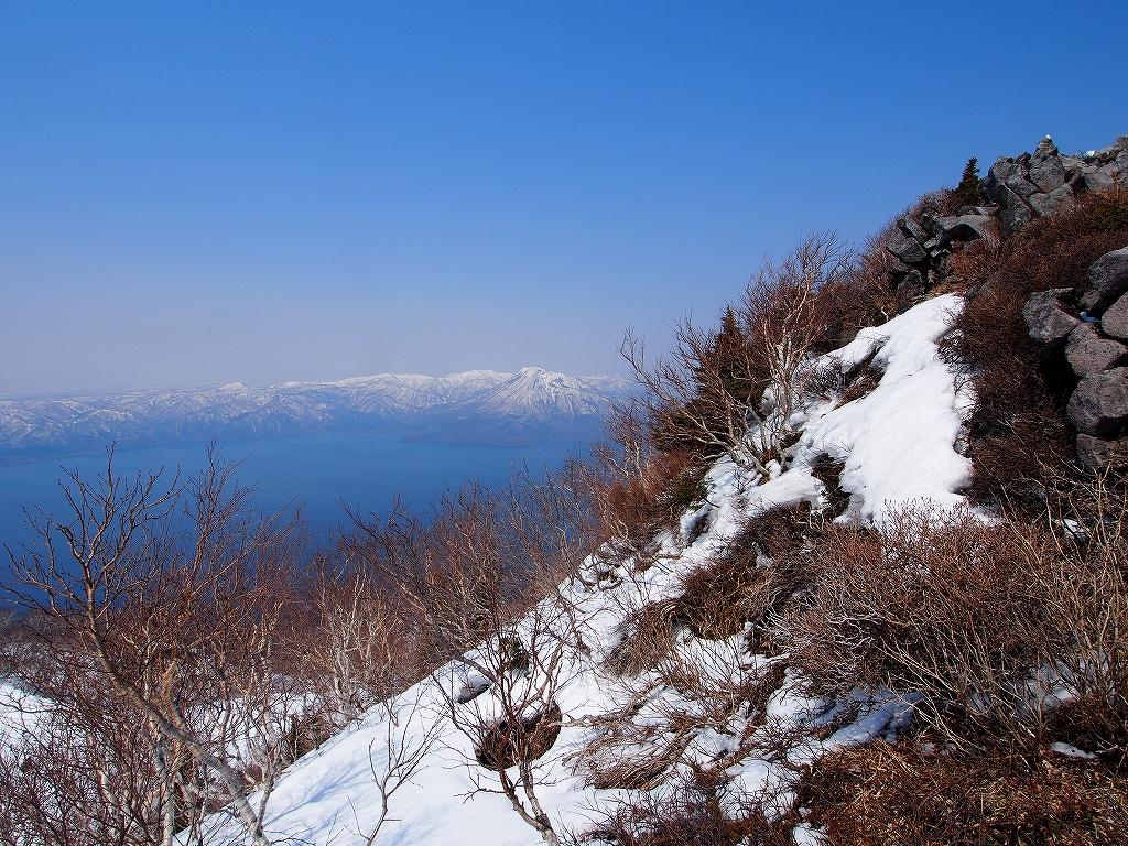 4月23日、風不死岳と樽前山-ゲートから風不死岳編-_f0138096_1534212.jpg
