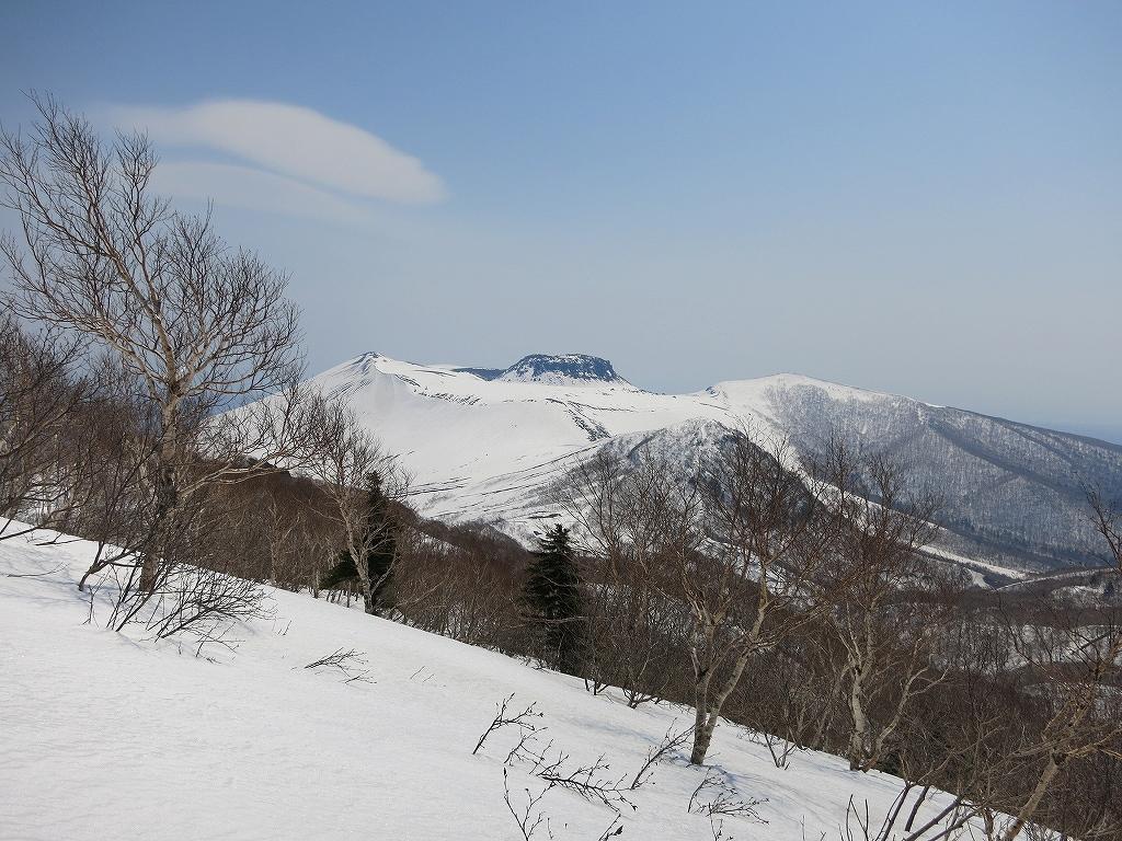 4月23日、風不死岳と樽前山-ゲートから風不死岳編-_f0138096_1534336.jpg