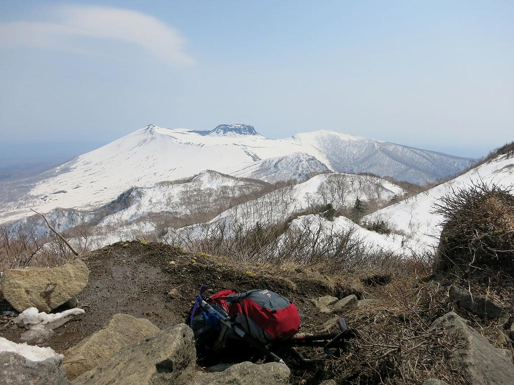 4月23日、風不死岳と樽前山-ゲートから風不死岳編-_f0138096_15343872.jpg