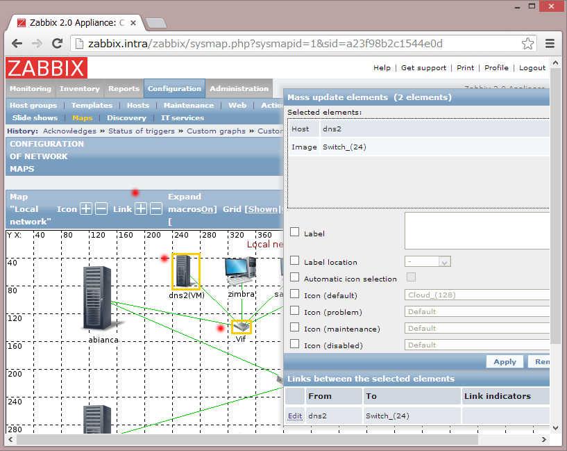 Zabbix2 でマップを作成_a0056607_19292219.jpg
