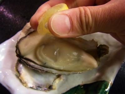 牡蠣の食べ納め_f0157910_1513334.jpg