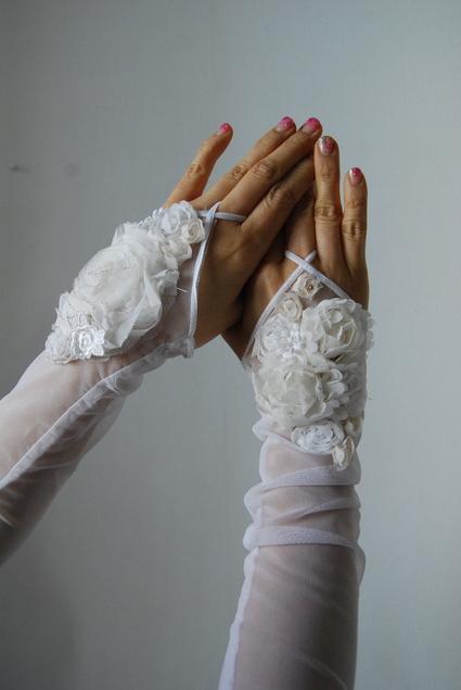 wedding  フィンガーグローブ_d0127925_11393262.jpg