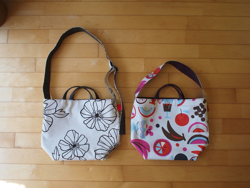 2wey reversible bag オプションで自分らしく。_e0243765_22422130.jpg