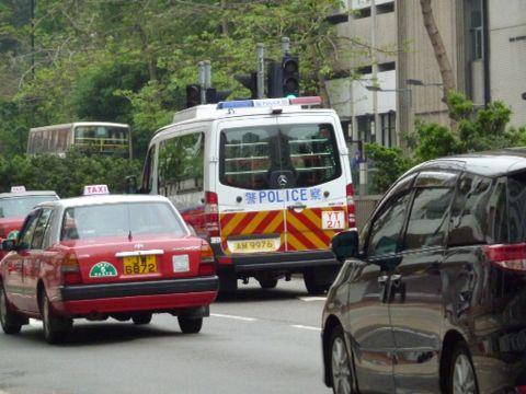 香港の消防車・パトカー_c0177195_16161546.jpg