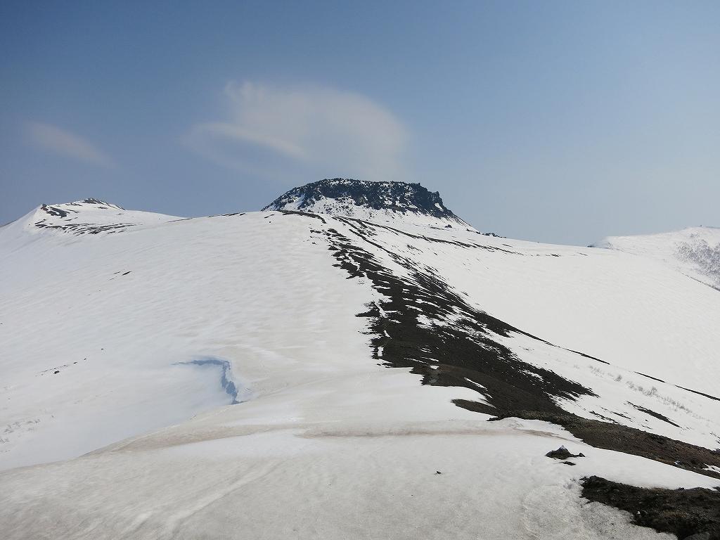 4月23日、風不死岳と樽前山-風不死岳からゲート編-_f0138096_20373849.jpg