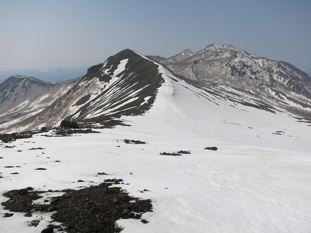 4月23日、風不死岳と樽前山-風不死岳からゲート編-_f0138096_20374723.jpg