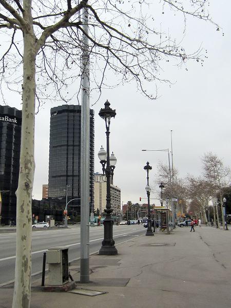 バルセロナの街頭_b0064411_5595588.jpg