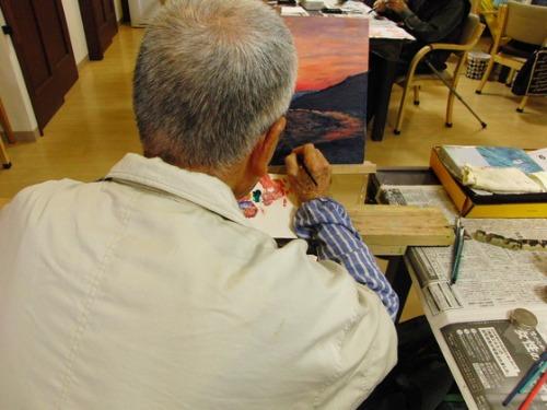 油絵 ~ 稲村ヶ崎からの風景 ~_e0222340_1754764.jpg