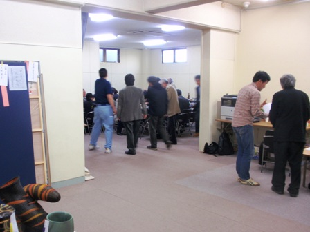 作業日誌16(第35回新工芸展搬入・審査作業)_c0251346_14154054.jpg