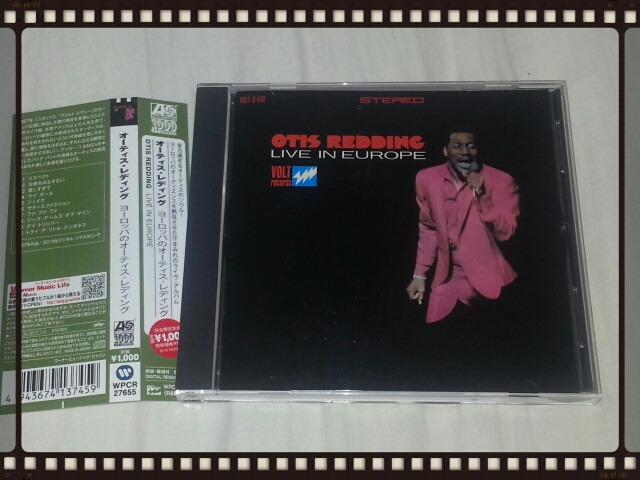 OTIS REDDING LIVE IN EUROPE_b0042308_11273914.jpg
