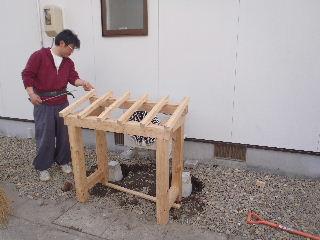 アトリエのある家 外構工事が進行中。_f0105112_7272062.jpg