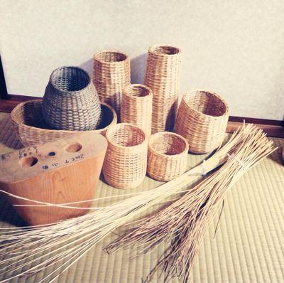 4月27日 兵庫県の伝統工芸品「やなぎこうり」 カゴBAG_e0295731_2031483.jpg