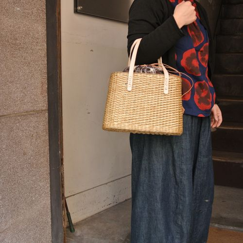 4月27日 兵庫県の伝統工芸品「やなぎこうり」 カゴBAG_e0295731_20413948.jpg